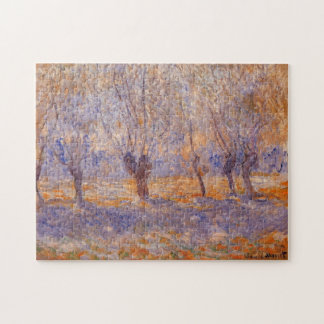 Willows, Giverny Monet Fine Art Jigsaw Puzzle