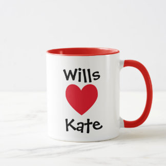 Wills Loves Kate Mug