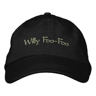 Willy Foo-Foo Embroidered Hat