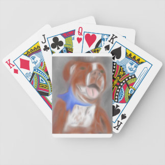 Willy the Pittie Bicycle Playing Cards