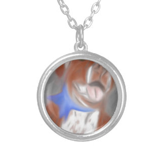 Willy the Pittie Silver Plated Necklace