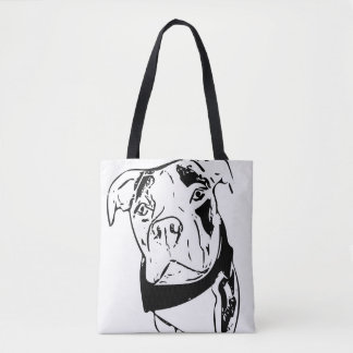 Willy the Pittie Tote Bag