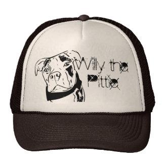 Willy the Pittie Trucker Hat