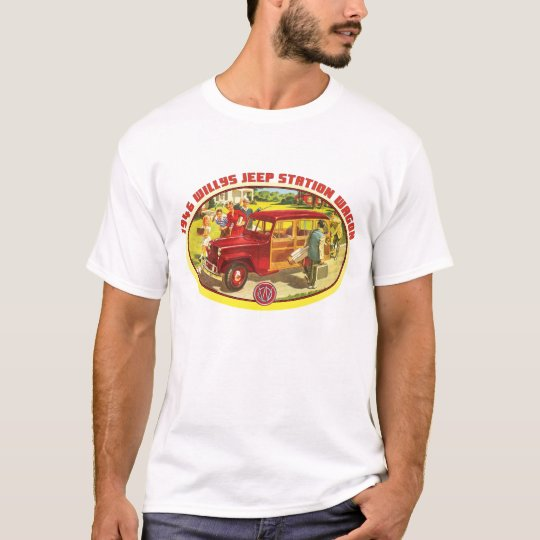 Willys 1946 woody wagon T-Shirt