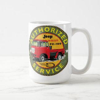 Willys fc-150 truck sign coffee mug