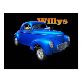 Willys Postcard