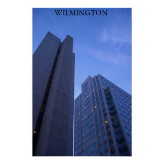 Wilmington at Dusk Poster