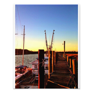 Wilmington Island Shrimp Boats Art Photo