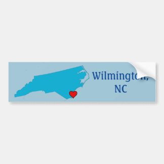 Wilmington, NC Bumper Sticker