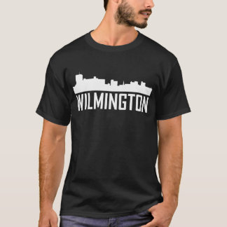 Wilmington North Carolina City Skyline T-Shirt