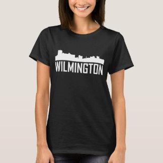 Wilmington North Carolina City Skyline T-Shirt