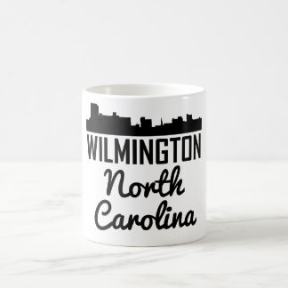 Wilmington North Carolina Skyline Coffee Mug