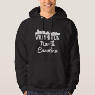 Wilmington North Carolina Skyline Hoodie