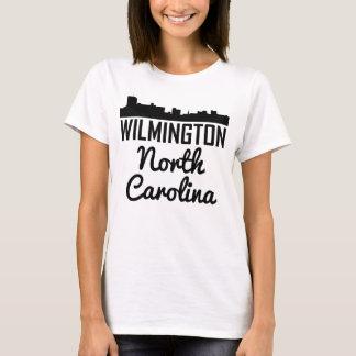 Wilmington North Carolina Skyline T-Shirt
