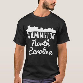 Wilmington North Carolina Skyline T-Shirt