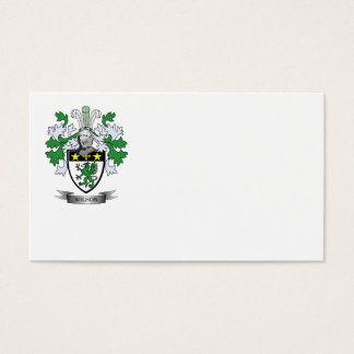 Wilson Coat of Arms Business Card