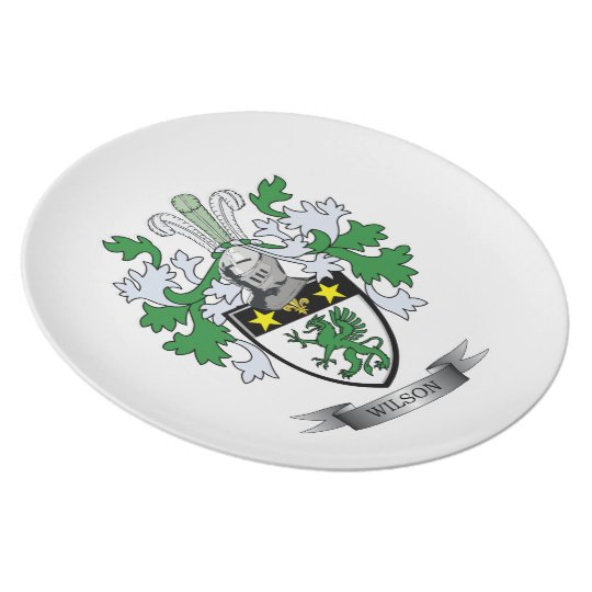 Wilson Coat of Arms Plate