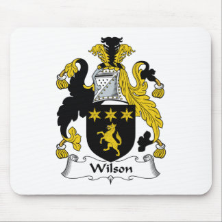 Wilson Family Crest Mouse Pad