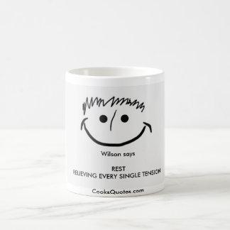 Wilson says Inspirational Mug REST