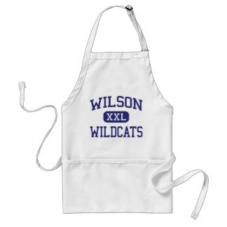 Wilson Wildcats Middle Albuquerque Standard Apron