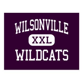 Wilsonville - Wildcats - High - Wilsonville Oregon Postcard