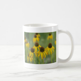 WIlted Yellow Flowers In a Field Classic White Coffee Mug