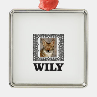 wily metal ornament