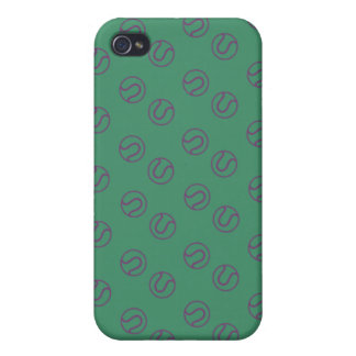Wimbledon balls style cover for iPhone 4