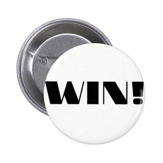 Win! 2 Inch Round Button