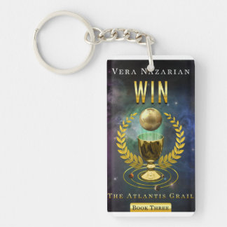 Win and Survive - Book Covers - Key Chain