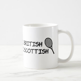 Win at tennis and your British... Coffee Mug