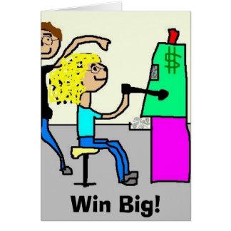 Win Big! Card