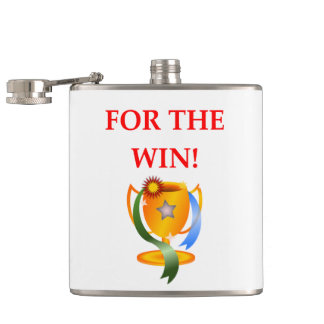 WIN HIP FLASK