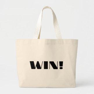 Win! Jumbo Tote Bag