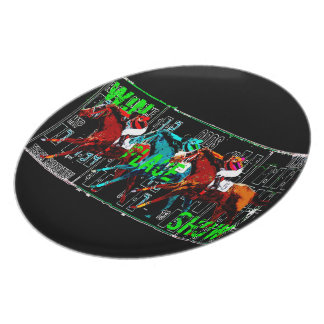 win place show horse racing plates