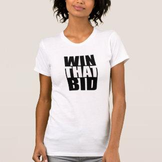 Win that Bid to Worlds Cheerleader Shirt