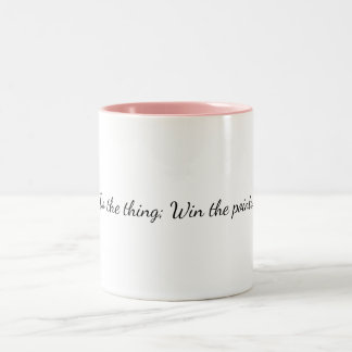Win The Points Mug