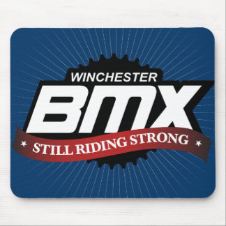 Winchester BMX mouse pad