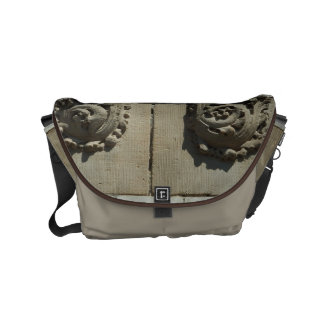 Winchester Carved Rosettes Messenger Bags