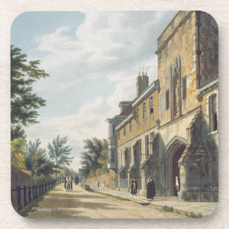 Winchester College Entrance with the Warden's Hous Coasters
