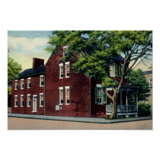 Winchester Virginia Cannon Ball House Poster