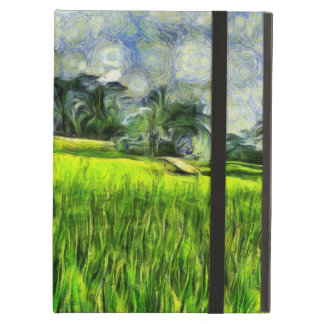 Wind and fields case for iPad air