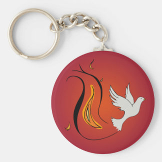 Wind and Fire Keychain