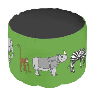Wind Animals Pouf