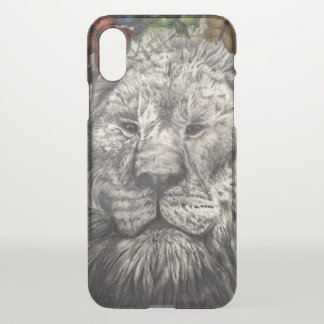 Wind Beneath My Wings Lion Butterfly Animal Art iPhone X Case