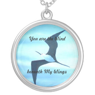 Wind Beneath My Wings Necklace