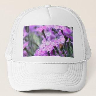 Wind Blown Dianthus Trucker Hat