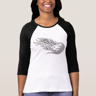 Wind Blown Hair Logo T-Shirt