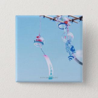 Wind-chime 2 Inch Square Button