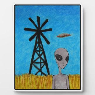 Wind Disk Plaque